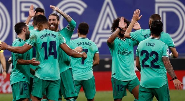 Real Madridden şampiyonluk yolunda kritik galibiyet