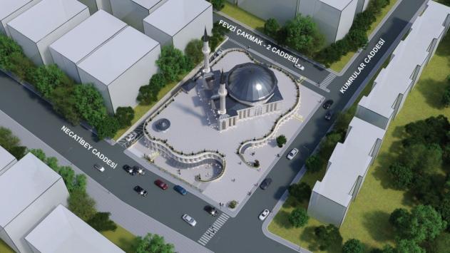 Ankara Büyükşehir Belediyesi ile Türkiye Diyanet Vakfı, Kızılaya cami projesi için protokol imzaladı