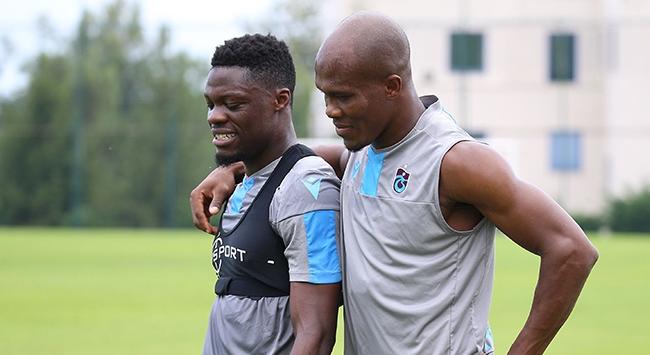 Ekuban ve Nwakaemeden Trabzonspora iyi haber