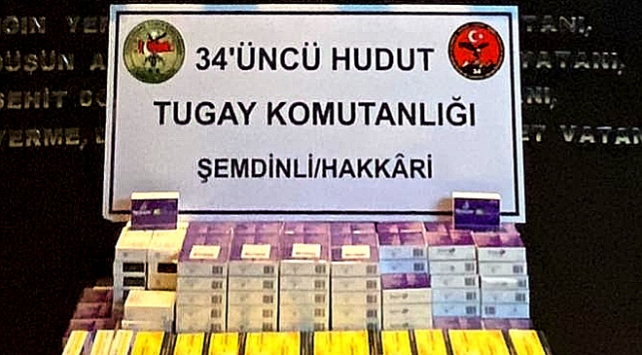 Hudut Kartalları kaçakçılara göz açtırmıyor