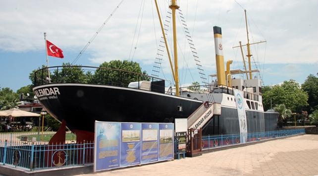 Gazi Alemdar Müze Gemisi yeniden ziyarete açıldı