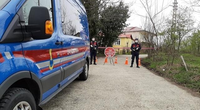 Şanlıurfada 79 ev karantinaya alındı