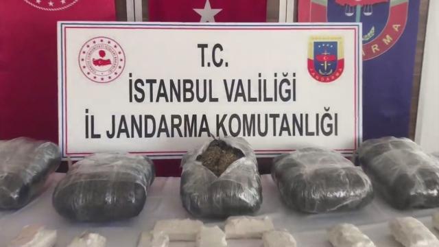 İstanbul'da 76 kilo uyuşturucu madde ele geçirildi