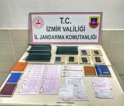 İzmirde tefecilik operasyonunda yakalanan 6 zanlı tutuklandı