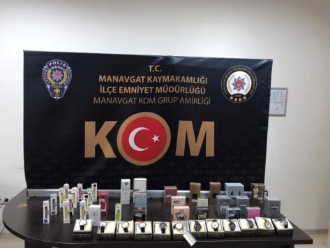 Antalyada kaçakçılık operasyonunda 9 kişi yakalandı