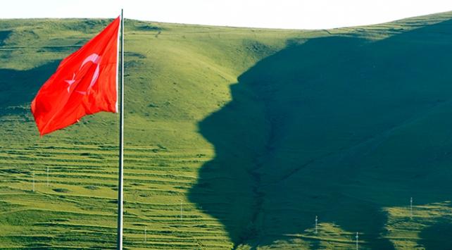 Ardahandaki Atatürk silüetine büyük ilgi