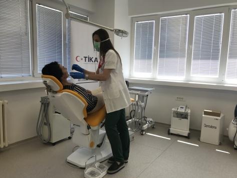 TİKAdan Karadağa tıbbi donanım desteği