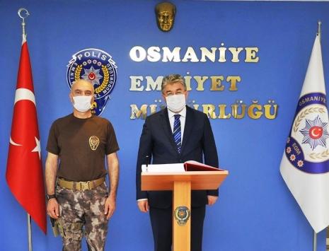 Osmaniye Valisi Yılmazdan İl Emniyet Müdürlüğünü ziyaret