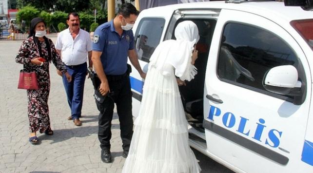 Zorla evlendirilmek istenen genç kız polis baskınıyla kurtarıldı