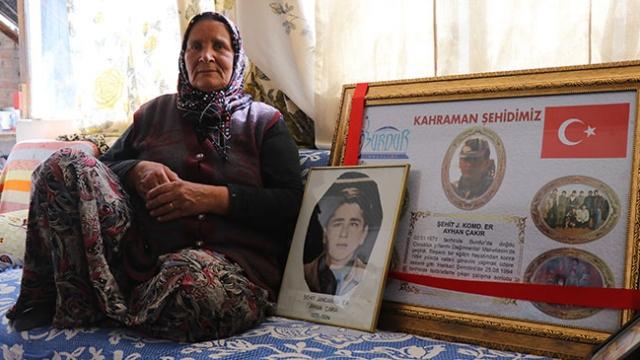Şehit annesinin onurlu yaşam mücadelesi herkese örnek oluyor