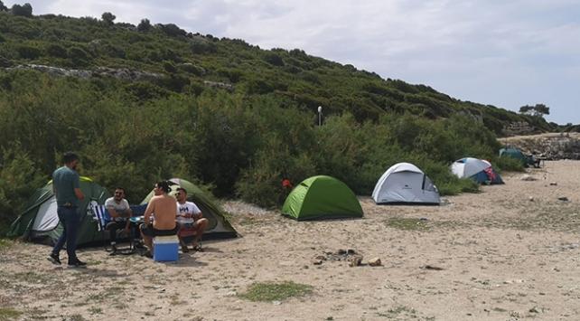 Urlada kamp yasağıyla ilgili denetimler başlatıldı