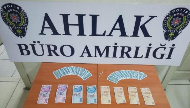 Malatyada kumar oynayan 9 kişiye 19 bin 225 lira ceza uygulandı