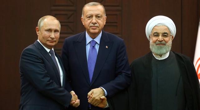Erdoğan, Putin ve Ruhani Suriyeyi görüşecek