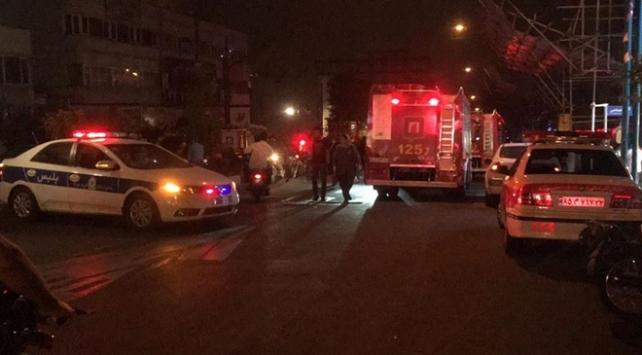 İranda tıp merkezinde patlama: 19 ölü
