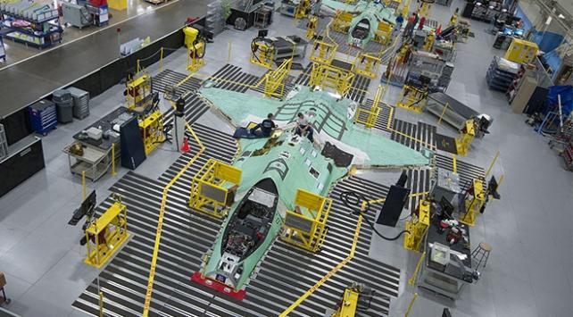 ABD F-35 parçaları için 2022ye kadar Türk şirketleri ile çalışacak