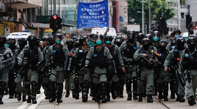 Hong Kongda Ulusal Güvenlik Kanunu kapsamında ilk gözaltılar yapıldı