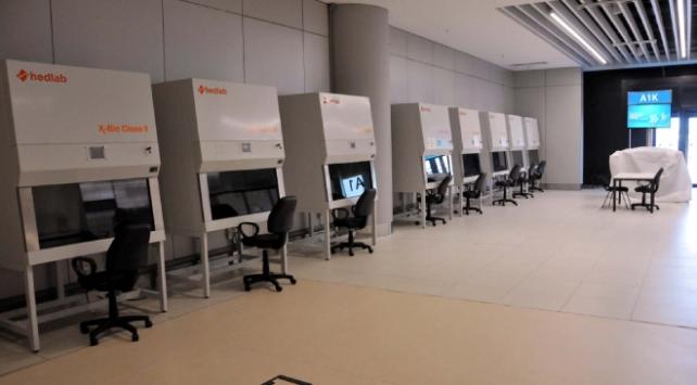 İstanbul Havalimanında Covid-19 test merkezi kuruldu