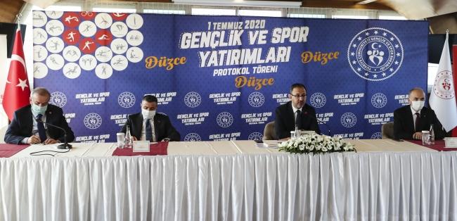 Gençlik ve Spor Bakanlığından Düzceye 32 milyon liralık yatırım