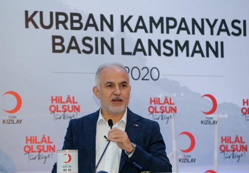 Türk Kızılay, 4 milyon insana kurban eti