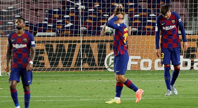 Barcelona yine yara aldı