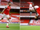 Aubameyang coştu, Arsenal farka koştu