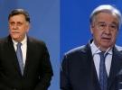 BM Genel Sekreteri Guterres Libya Başbakanı Serrac ile görüştü
