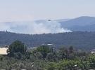 Urla'daki yangının sebebi belli oldu: 1 şüpheli gözaltında