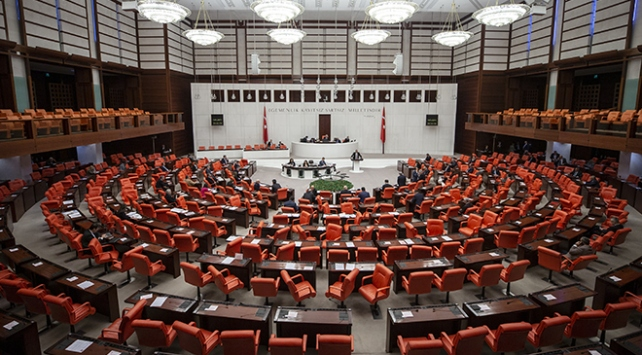 TSK ile ilgili kanun teklifi Meclis Başkanlığına sunuldu