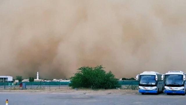 Umman'da kum fırtınası