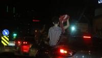 İstanbul'da tedbirsiz asker konvoyu yapan 4 kişi yakalandı