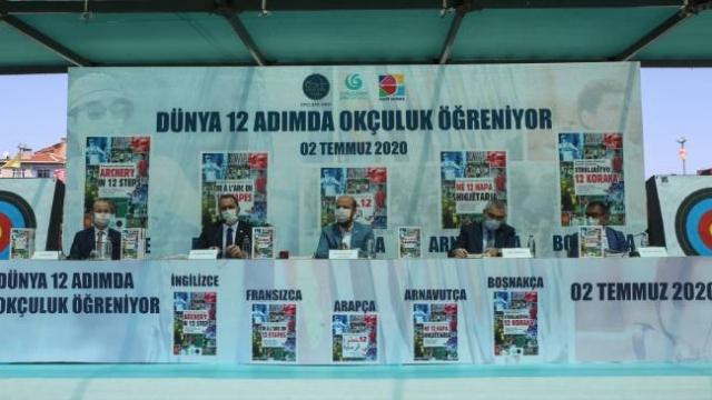 Türk Okçuluğu '12 Adımda Okçuluk' kitabıyla dünyaya anlatılacak