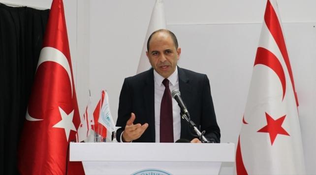 KKTC Dışişleri Bakanı Özersaydan Kapalı Maraş açıklaması