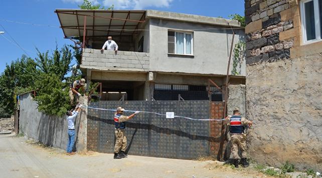 Gaziantepte 14 ev karantinaya alındı