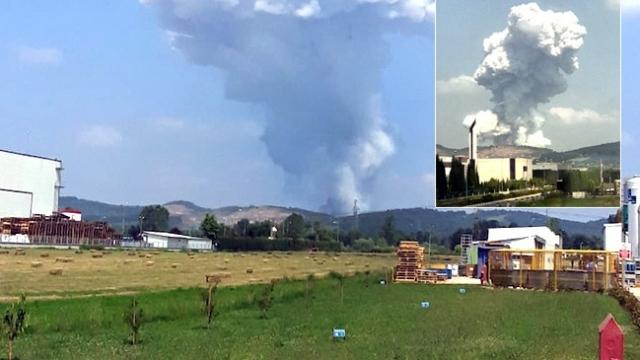 Havai fişek patlamasından yeni görüntüler