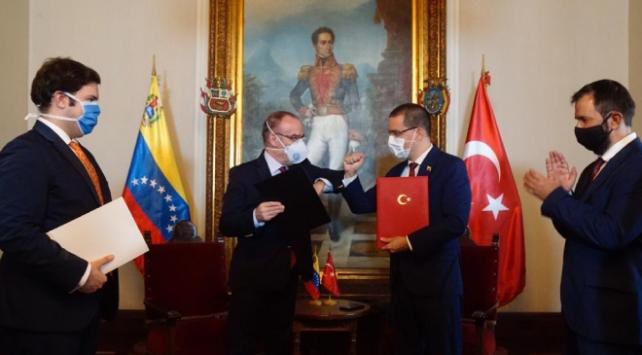 Türkiye ile Venezuela arasında ticaretin geliştirilmesi anlaşması