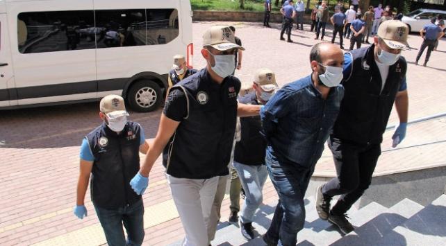 Kahramanmaraşta terör örgütü PKKya operasyon: 4 tutuklama