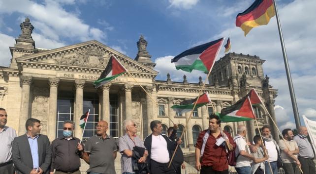 Almanyada İsrailin ilhak planı protesto edildi