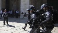 İsrail güçlerinden Kudüs'te Filistinlilere saldırı: 7 yaralı