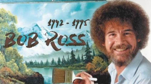 """Türkiye'nin """"küçük, mutlu"""" ağaçlarıyla tanıdığı Bob Ross'un 25. ölüm yıl dönümü"""