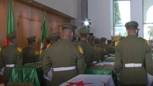 Fransa'nın alıkoyduğu Cezayirli direnişçilerin naaş kalıntıları iade edildi