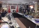 Mardin'de Bakan Soylu başkanlığında güvenlik toplantısı yapılıyor