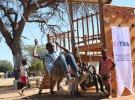 TİKA, Namibya'daki mülteci çocukların yüzünü güldürdü