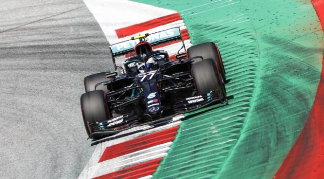 Formula 1de Bottas pole pozisyonunun sahibi oldu