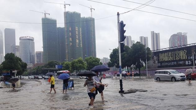 Çinde yılbaşından bu yana sellerde 121 kişi öldü veya kayboldu