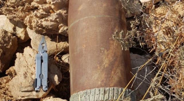 Barış Pınarı Harekatı bölgesinde top mühimmatı imha edildi