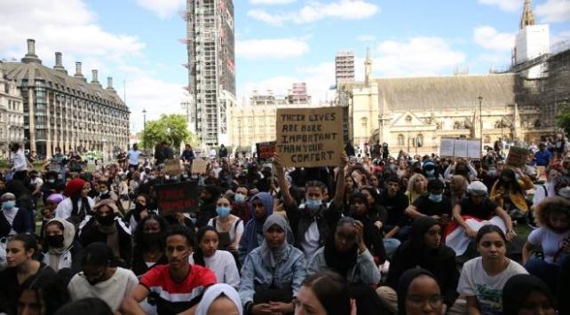 İngilterede Yemen protestosu