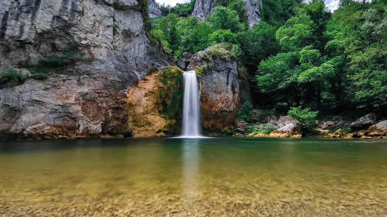 Karadeniz'in saklı güzelliği Ilıca Şelalesi