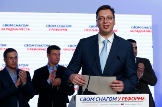 Sırbistandaki genel seçimin resmi sonuçları açıklandı