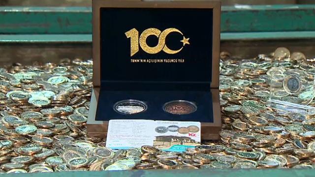 TBMM'nin 100. yılına özel 1 lira