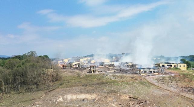 Sakaryada havai fişek fabrikasındaki patlamaya ilişkin 4 tutuklama